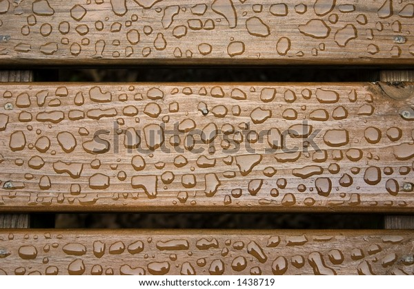 the boards on a deck