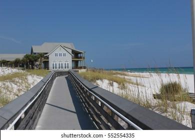 Boardwalk to the beach. Watersound, FL.