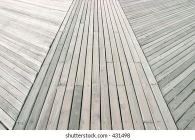 boardwalk at Coney Island