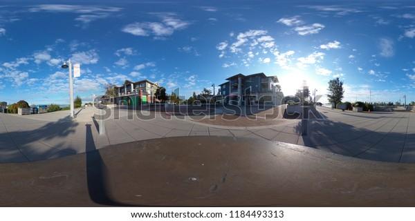Boardwalk of a place