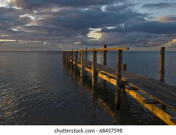 Boardwalk - sunset