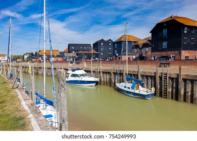 Boast moored at Rye East Sussex England UK