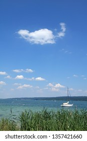 Boat at Ammersee, Germany