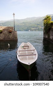 Boat in Carate Urio - Lake Como
