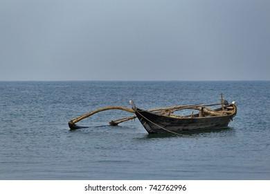 Boat, Clicked nr. Konkan, Maharahstra, India