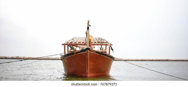 Boat at Corniche Dammam Saudi Arabia