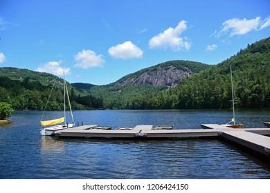Boat Dock, Fairfield Lake, Sapphire Valley, NC