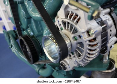 Boat engine detail