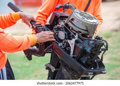 boat engine preparation