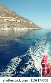 boat excursion on the Mediterranean sea