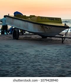 Boat at Goa Beach