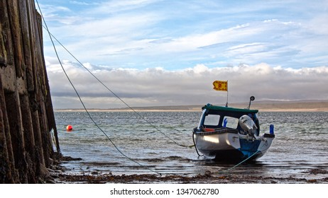 Boat at Golspie harbour