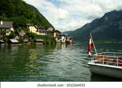 Boat in Hallstatt