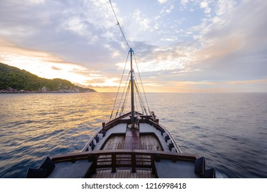 Boat Head with Sea View