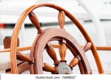 boat helm wheel