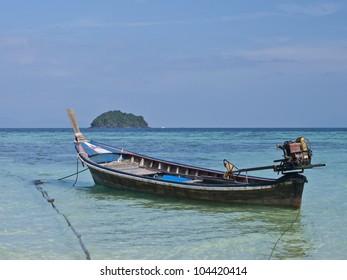 Boat in Lipe