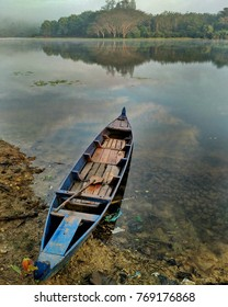 Boat in Lonely Lake