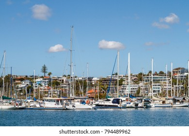 Boat marina at Manly, Queensland, Australia