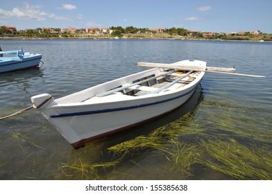 Boat at Nin, Croatia