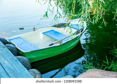 boat with oars
