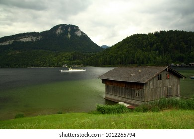 Boat on the Altaussee