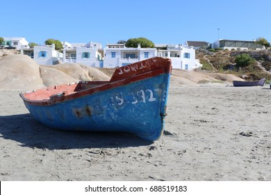 A boat on the beach of Paternoster