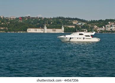 Boat on the Bosporus