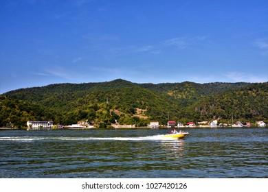 boat ride to the Danube boilers