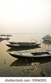 Boat ride at Varanasi, India