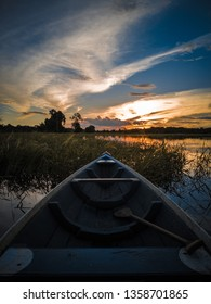 Boat in the river - Amazonia