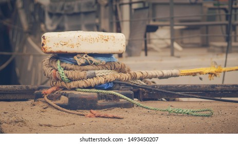 Boat Rope Bunches Ropes Cable