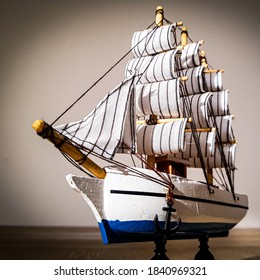 boat sailbot ship model toy