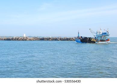 boat sea Thailand fisherman