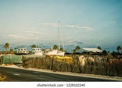 boat skiff shallop port