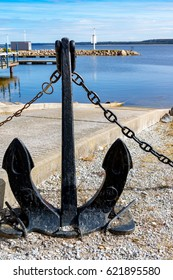 Boat Slip with Anchor