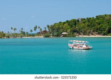 Boat tour at Ko Chang,Trat, Thailand