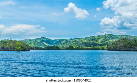 Boat trip on calm water