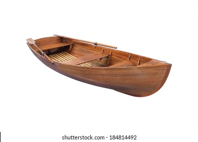 boat under the white background