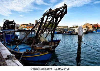 Boat in Venice, Italy