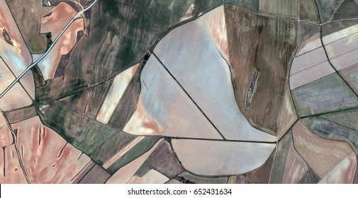 boat,allegory, tribute to Matisse, Picasso, abstract photography of the Spain fields from the air, aerial view, representation of human labor camps, abstract, cubism,abstract naturalism