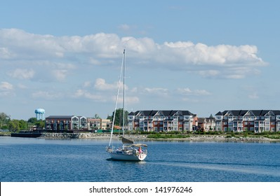 Boating in Collingwood, Ontario