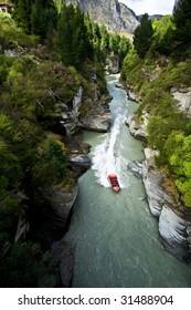 boating downriver
