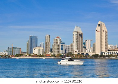 Boating in San Diego, California
