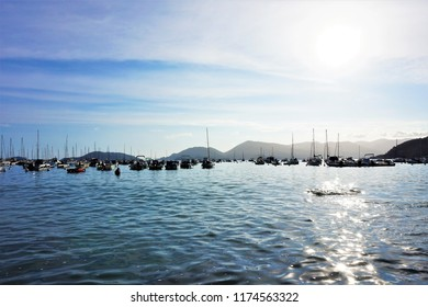 Boats in the Bay of Silence, Lerici, Liguria, Italy