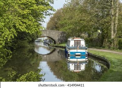 Boats and bridge.