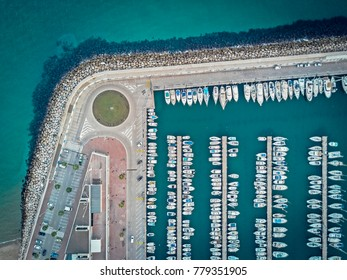 Boats and Cars Parking Mooring Line