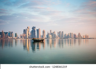 boats and Cornish, Doha,Qatar