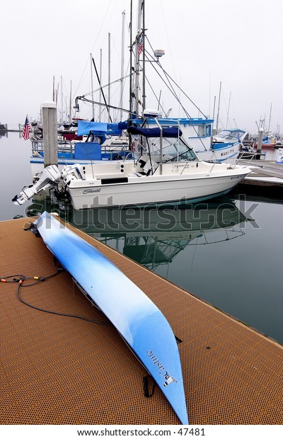 Boats in Humboldt Bay, CA