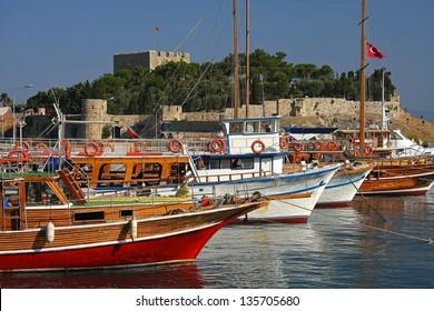 Boats in Kusadasi