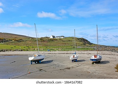 Boats on the Beach at Port Logan